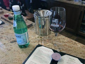 Las Positas Vineyards pairing