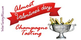 Almost Valentines Day Champagne Tasting
