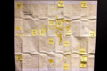 K & L Wine map