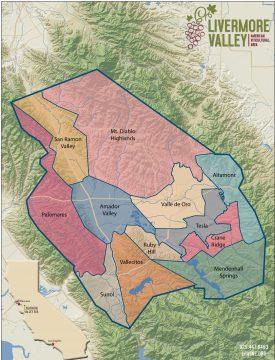 Livermore AVA District Map