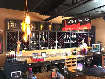 rock wall by the glass sales