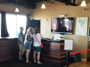 rock wall flight bar