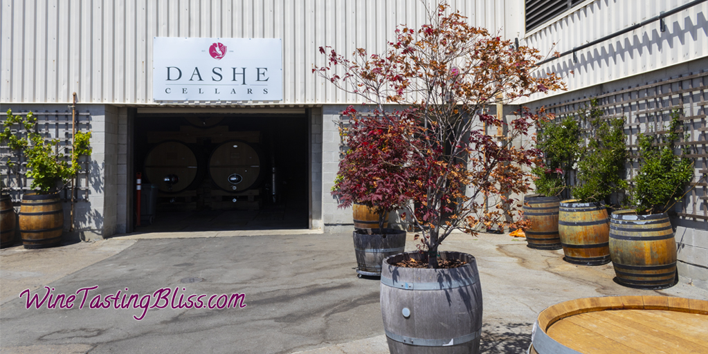 Visiting Dashe Cellars in Alameda