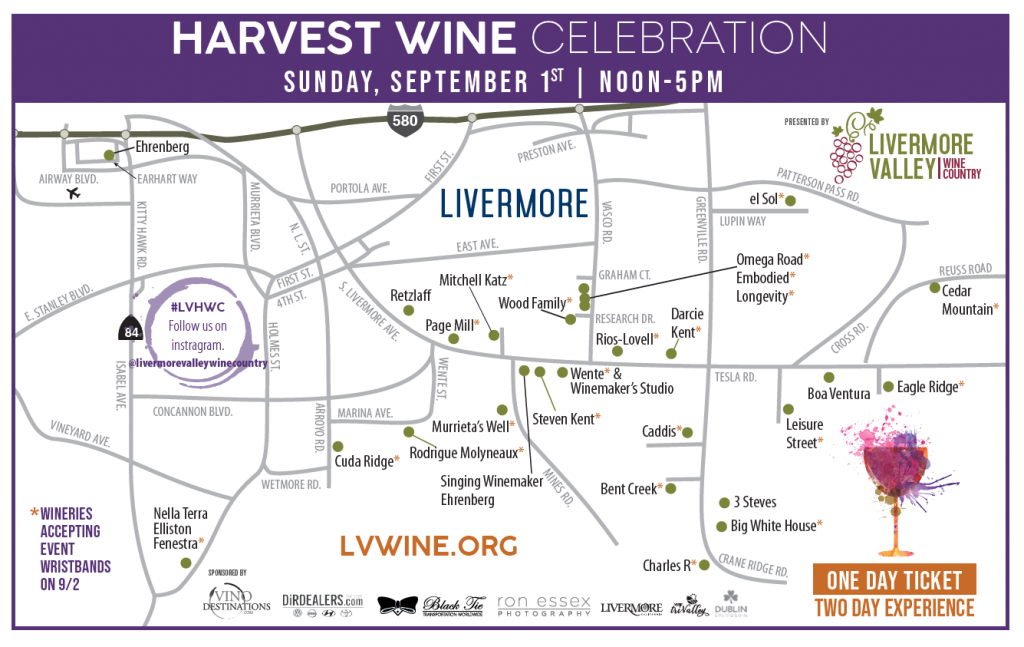 Harvest Celebration Map