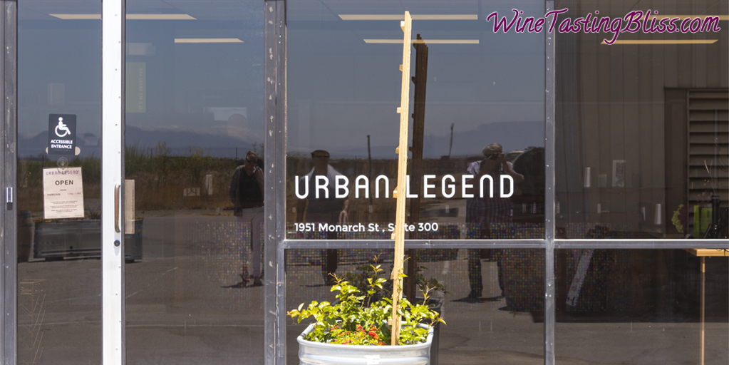 Urban Legend entrance