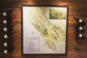 Davies Vineyards Map