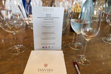 Davies tasting table