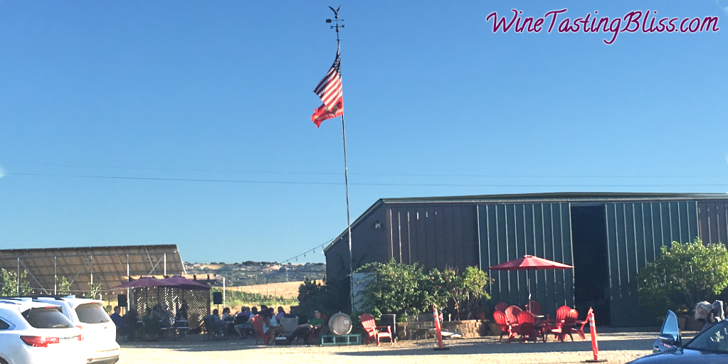 A Dinner Party at Eagle Ridge Vineyard
