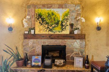 Bouchaine Fireplace