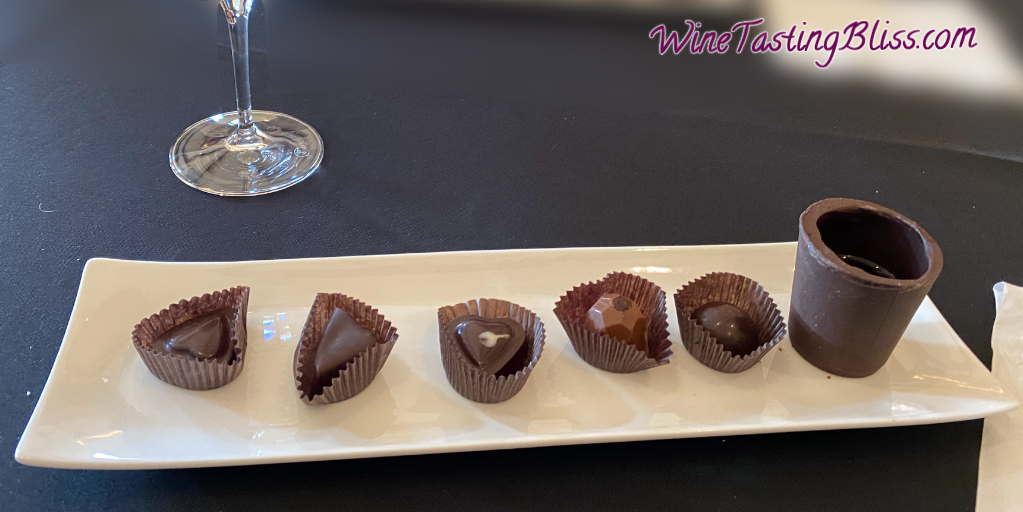Las Positas Vineyards Truffle and wine tasting