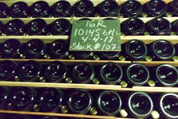 Schramsberg Bottle Stack