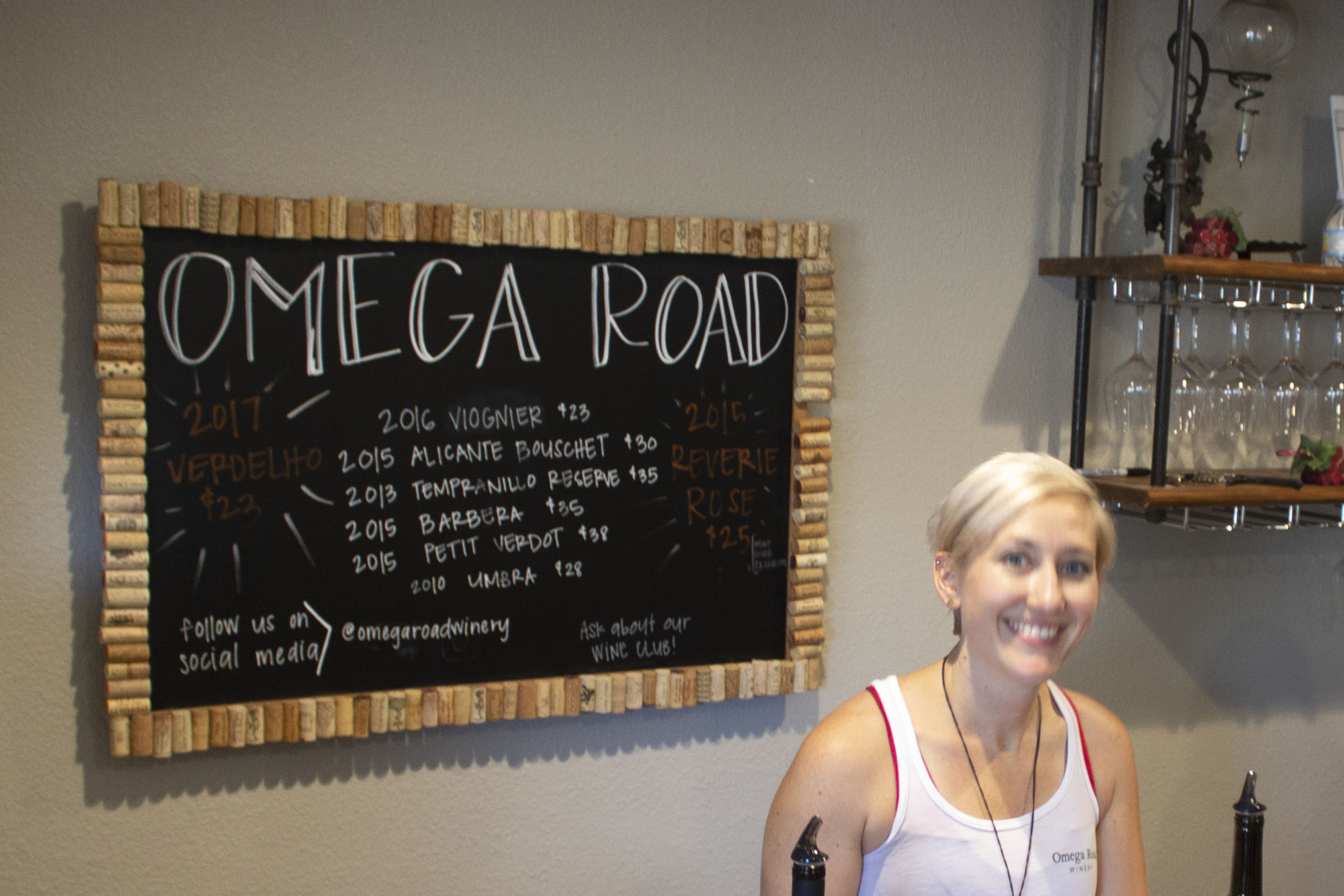 An Interview with Alexandra Henkelman of Omega Road Winery