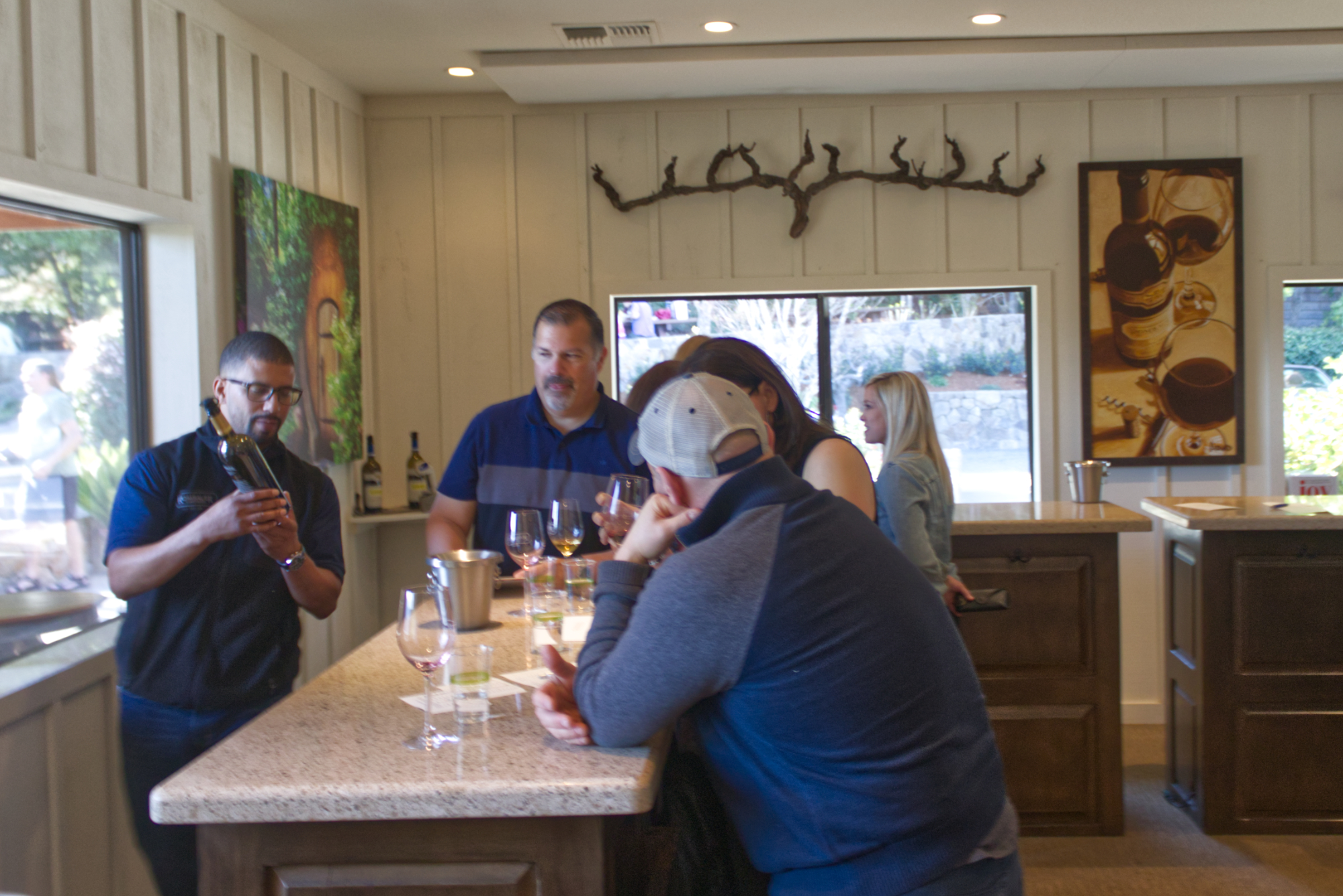 Visiting Rombauer Vineyards
