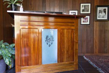 Schramsberg Checkin Desk