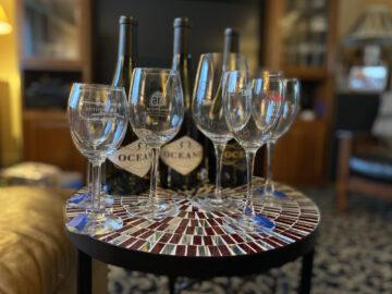Oceano Wine Glasses Ready