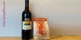 Las Positas Vineyards Pairs Cab and Popcorn