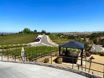 Bovino Vineyards Parking Lot