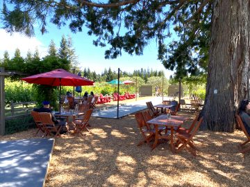 Furthermore Wines Bocce Court