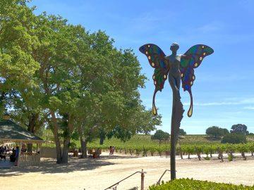 Sculpterra Winery Butterfly
