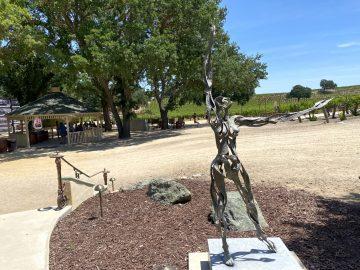 Sculpterra Winery Statue