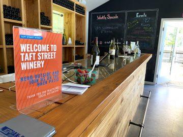 Taft Street Winery Bar