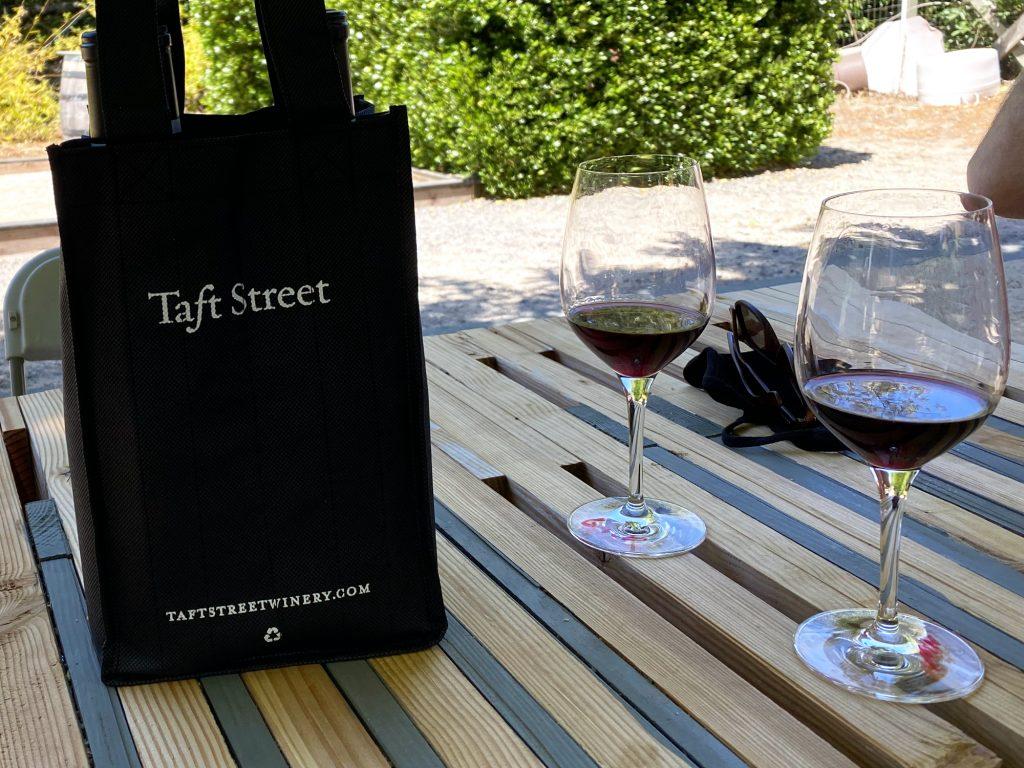 Taft Street Winery Wine Bag