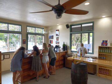 Volcano Winery Tasting Bar
