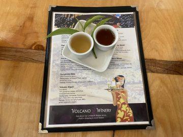 Volcano Winery Tea