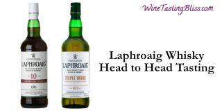 Laphroaig Whisky Head to Head Tasting